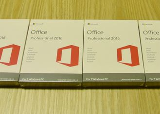 China Office 2016 Pro Fpp 64Bit Full Version Product Key Standard Retail Box supplier