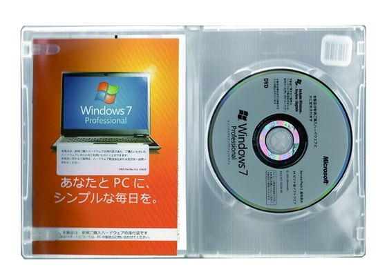 China Microsoft Windows 7 Pro Pack 100% Original Online Activate Japanese Language supplier