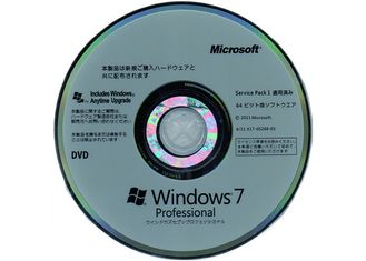 China Genuine Windows 7 Pro Pack 64Bit OEM Systems Full Version Software supplier