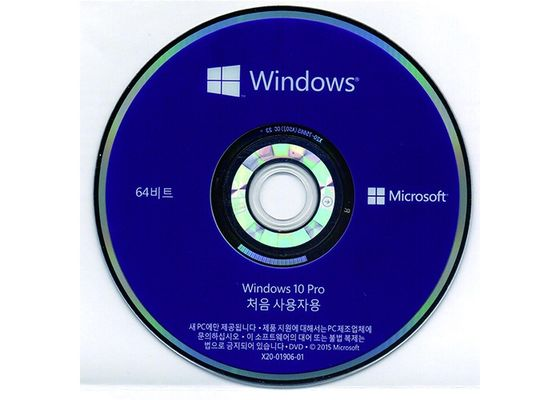 China Original Windows 10 Professional 64 Bit Dvd OS Genuine Systems supplier