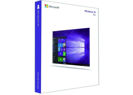 China Microsoft Windows 10 FPP Multi Language Latest Windows Operating System For Pc  supplier