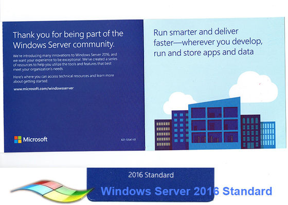 Full Version  Win Server 2016 Standard  64bit Microsoft Server 2016 R2