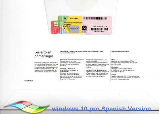 China OEM Sticker Activate Windows 10 Product Key / Windows Ten Pro supplier