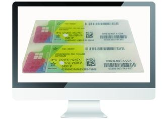 China OEM Genuine Windows 10 Pro COA Sticker Product Key Multi Language MS Certified supplier