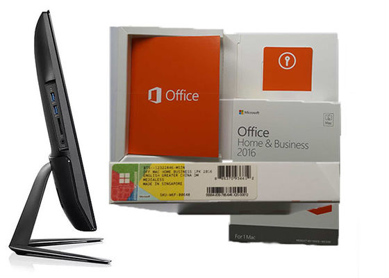 China Genuine Microsoft Office Home & Business 2016 For Mac Multi Language supplier
