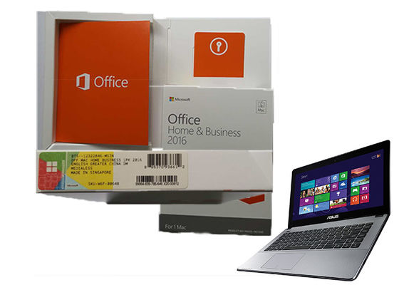 China Ms Office Home And Business 2016 64Bit Systems Genuine Activate  For Mac supplier