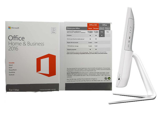 China Microsoft Office Home And Business 2016 Product Key 64bit Full Version For Mac supplier