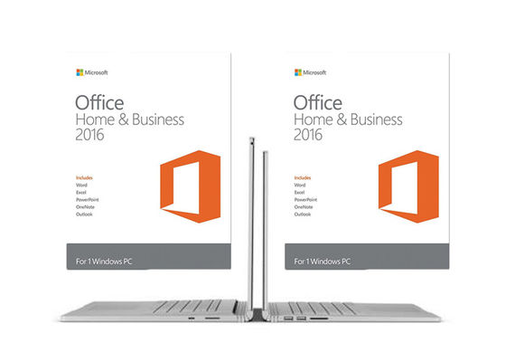 China Microsoft Office Home And Business 2016 Full Version 64bit For PC supplier