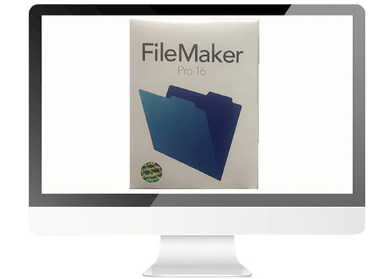 China Multi Language FileMaker Pro 16 Upg FPP Retail Box 100% Activate For MAC supplier