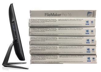 China Windows Original FileMaker Pro 16 Retail Box Software For Business supplier