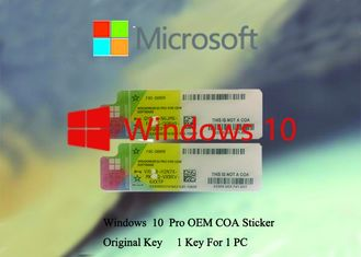 China 100% Original Windows 10 Product Key  Working Serial KEY COA X20 Multi Language Software supplier