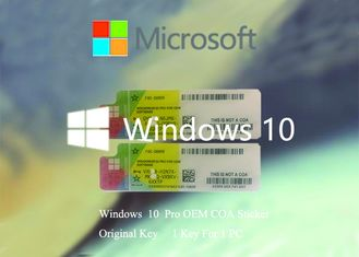 China Original Windows 10 Product Key  Working Serial KEY  Multi Language Software supplier