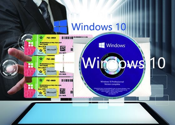 China Genuine Windows 10 Product Key X20 Online Activate Multi Language COA Sticker supplier