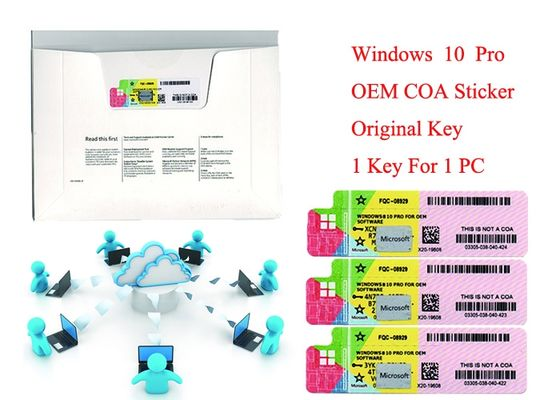 China 100% Original  win 10 Product Key Multilingual Operating System 64 bit and 32 bit Online Activate supplier