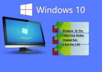 China 100% Original Windows 10 Pro COA Sticker Online Activate Customizable FQC COA X20 supplier