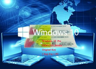 China Full Version Win 10 Pro COA Sticker 64bit 100% Online Activate Operating System supplier