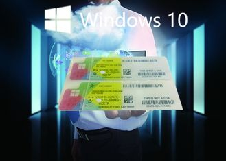 China English Language Actually Windows 10 Pro COA Sticker 32bit 64bit Online Activate supplier