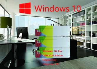 China Spanish Language Windows 10 Pro COA Sticker Original Online Activation supplier