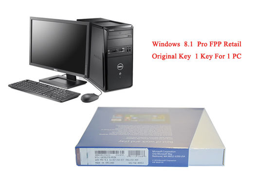 China Microsoft Win 8.1 Pro Retail 64 Bit FQC-08983 Online Activate for PC Operating System supplier