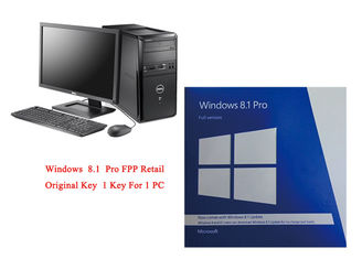China PC Full Version Microsoft Windows 8.1 Pro 64 Bit Software Online Activate supplier