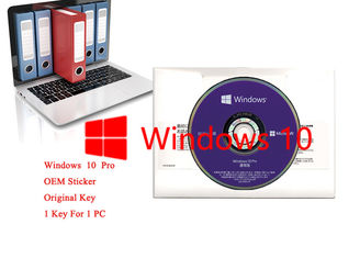 China Japanese Language Windows 10 Pro OEM Sticker Home Retail Use 64bits Version supplier