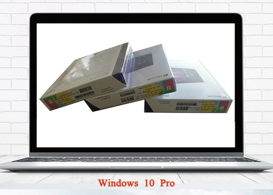 China Global Area Range Windows 10 FPP Full Version USB Flash Drive Retail Box Package supplier