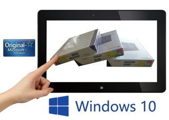China Windows 10 Full Packaged Product , Windows 10 Famille Fpp Key Card License supplier
