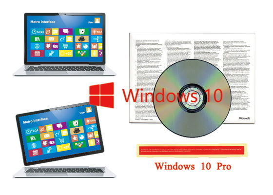 China Spanish version 1pk DSP Original Software Windows 10 Pro OEM Sticker Packaging 64bit supplier