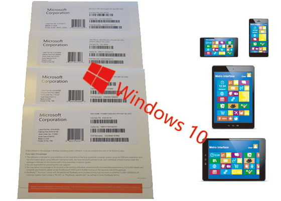 China Windows 10 Home OEM Pack English Online Activation Forever legal Using supplier