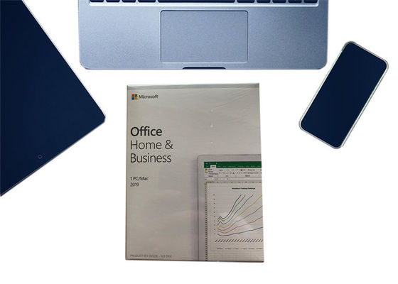China Genuine Office 2019 HB 1pc English APAC EM MEDIALESS FPP Retail Box For Windows / MAC supplier