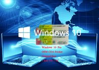 China Optional Version Windows 10 Pro COA X20 Sticker Product Key 64Bit Genuine Systems factory