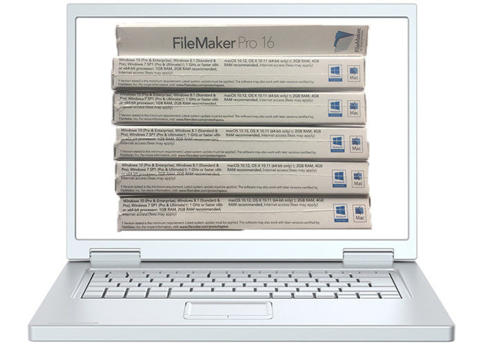 FPP Retail Box Filemaker Pro Advanced For Win 10 Activation