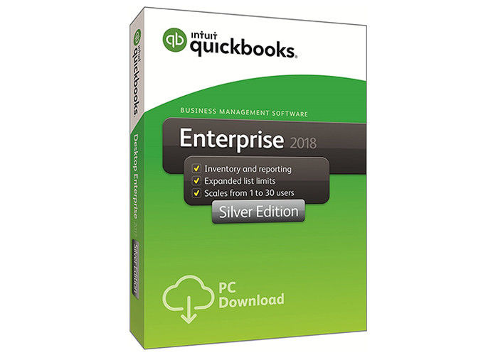 Full Version Quickbooks Desktop Enterprise 2018 Silver