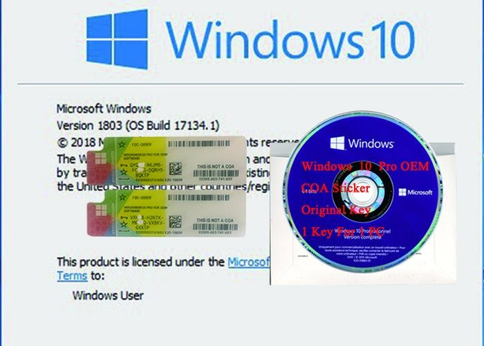 windows 10 oem where is product key