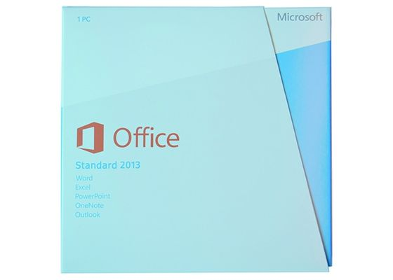 China Full Version Office 2013 Standard Retail Box Multi Language 64bit Systems factory