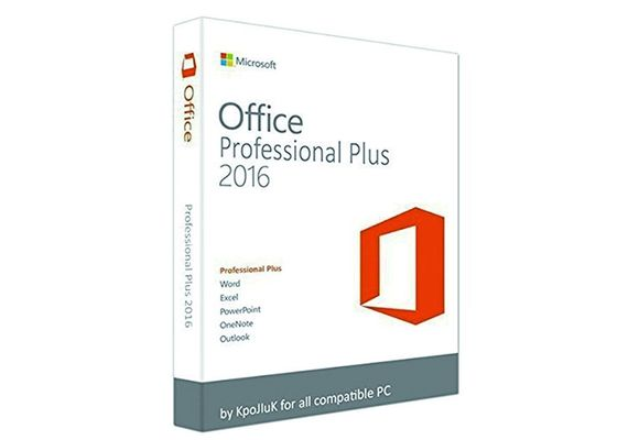 China Genuine Office 2016 Professional Plus FPP Full Version Online Activate factory