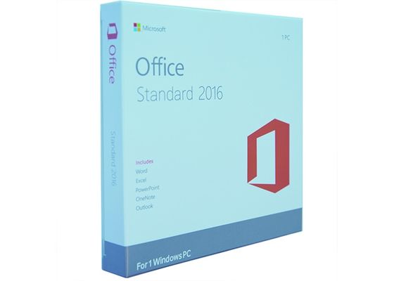 China Multi Language Microsoft Office Standard 2016 100% Original Online Activate factory
