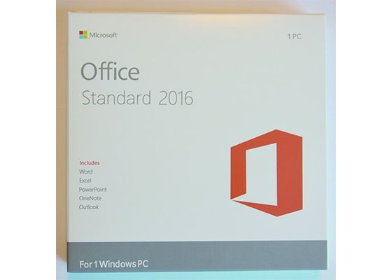 China Full Version Office 2016 Professional FPP Standard Package 64Bit factory