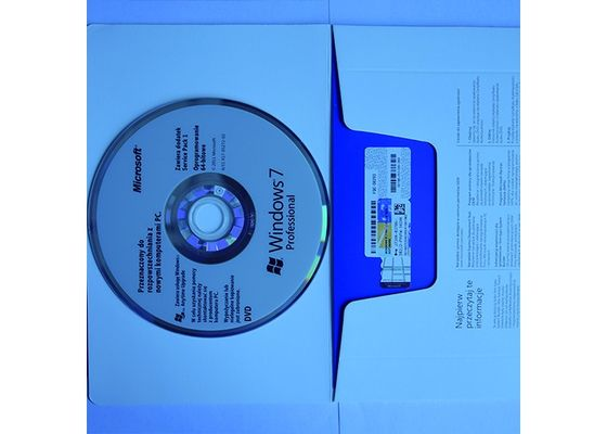 China Microsoft Windows 7 Professional Dvd Operating System / W7 Product Key factory