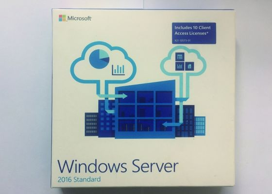 FPP Pack 64Bit Windows Server 2016 Standard Oem English 1 Gigahertz