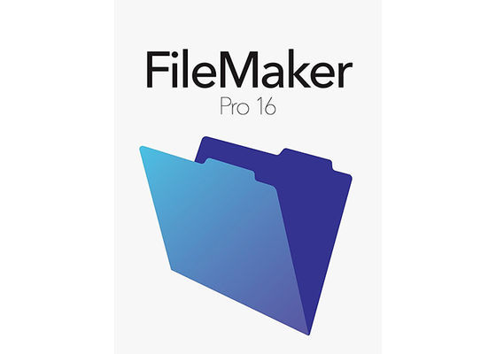 China Professional Filemaker Pro Software 16 For Win 10 And Mac OS X factory