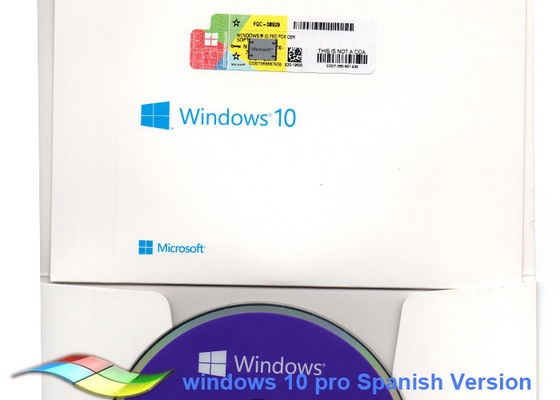 China Spanish Version Windows 10 Oem Sticker For Home PC Windows Coa Sticker factory