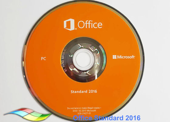 China Full Version Office 2016 Professional FPP Package 64Bit Online Activate factory
