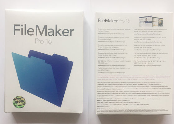 Microsoft Genuine Full Version, FileMaker Pro 16 100% Original Online Activate, Multi Language Software