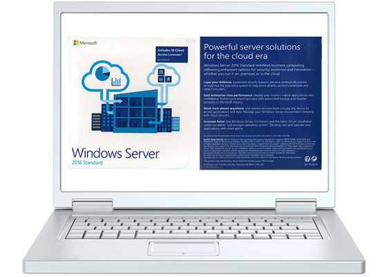 China Full Version Microsoft Windows Server 2016 Licensing FQC 64bit Operating Systems factory