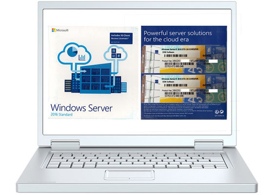China 64bit Operating Systems Win Server 2016 Standard / Windows Server 2016 Oem factory