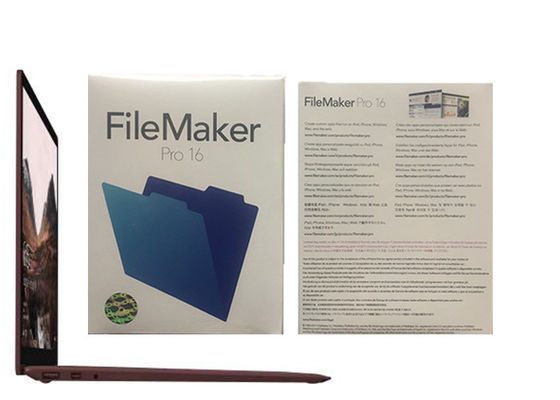 China Filemaker Pro Relationships Pro 16 HL2C2ZM/A Filemaker Pro Windows factory