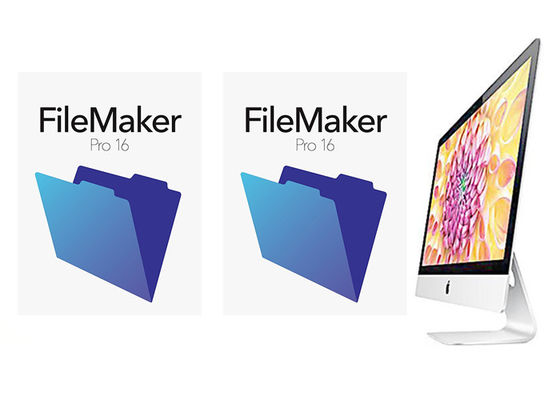China Genuine FileMaker Pro 16 Retail Box Package Multi Language For MAC factory