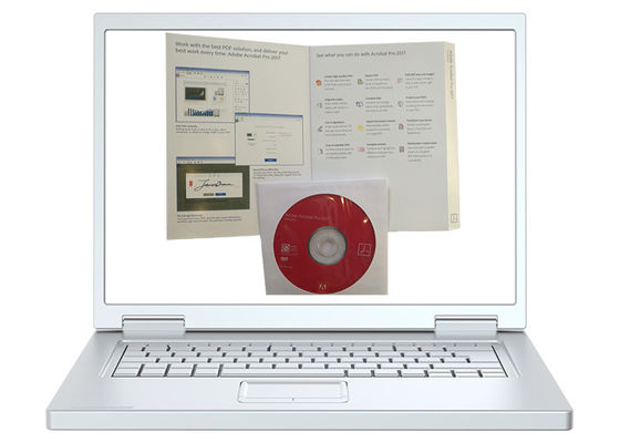 China English Adobe Acrobat Xi Professional 2017 Software DVD ROM Drive factory