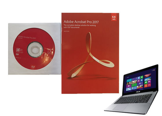 China Genuine Adobe Acrobat Pro Dc Desktop Retail Box Package 100% Activate factory